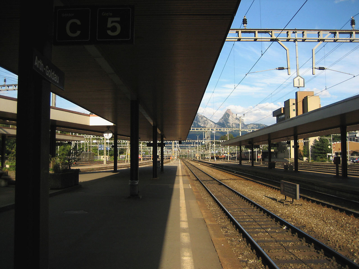 Bahnhof Goldau (Symbolbild)