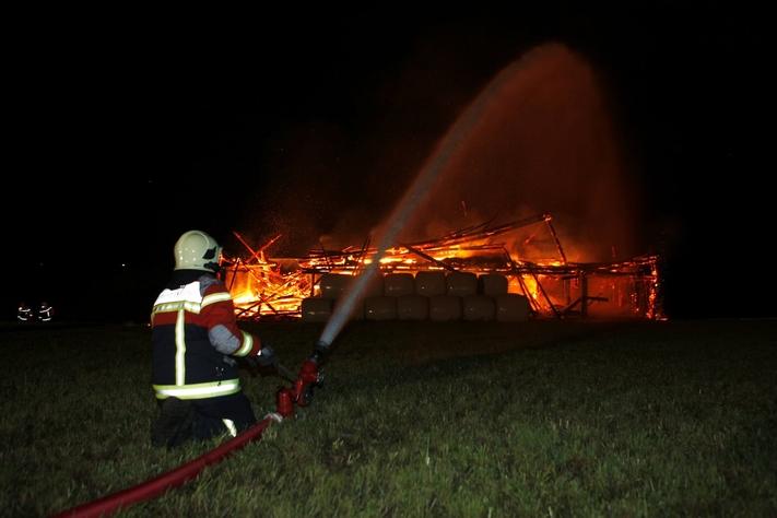 Brand Höchrainweg