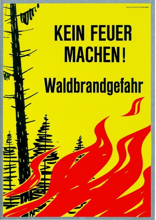 Feuerverbot im Wald / Waldrändern im Kanton Schwyz