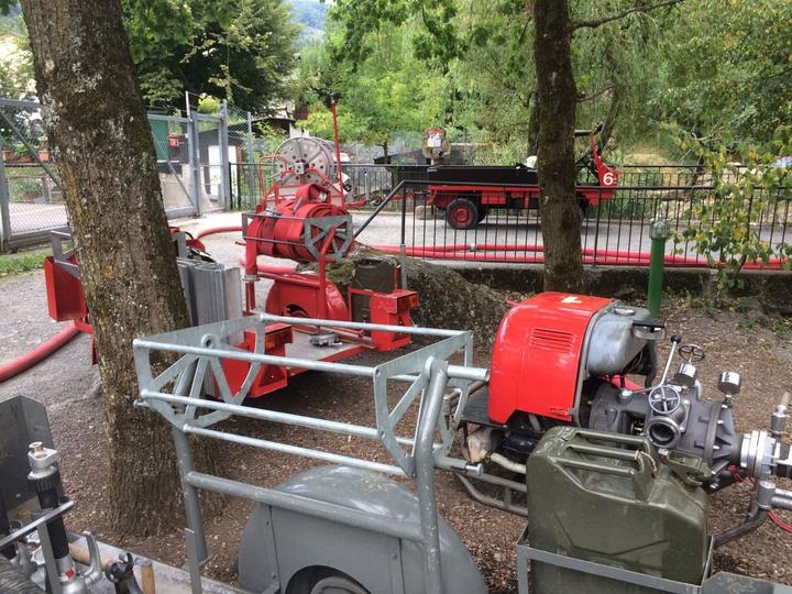 Wasser umpumpen Tierpark
