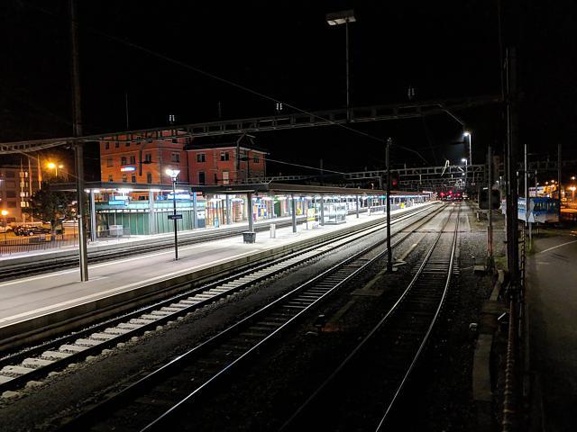 Bahnhof Goldau