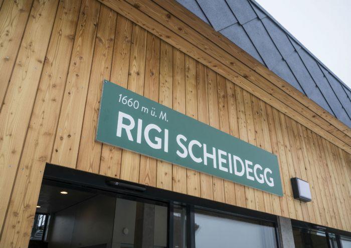 Station Scheidegg