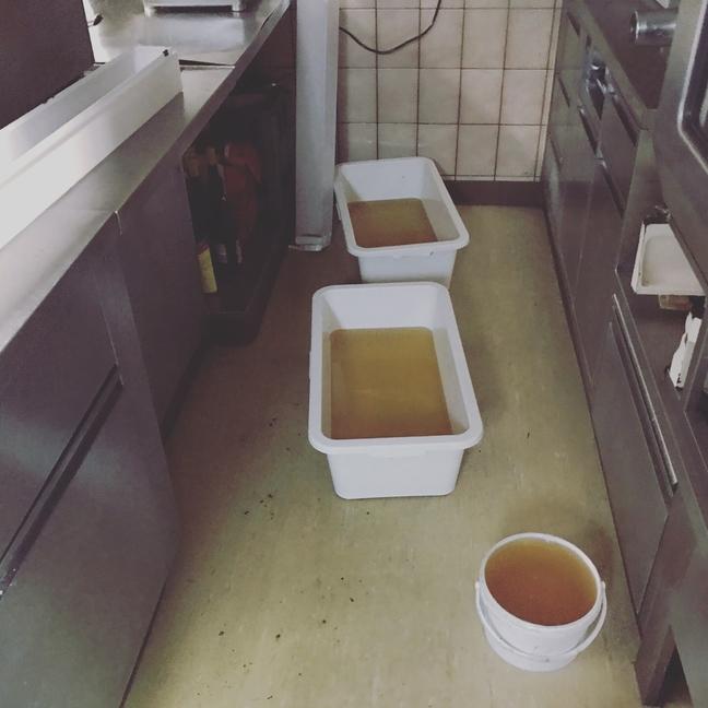Wasser in Restaurant