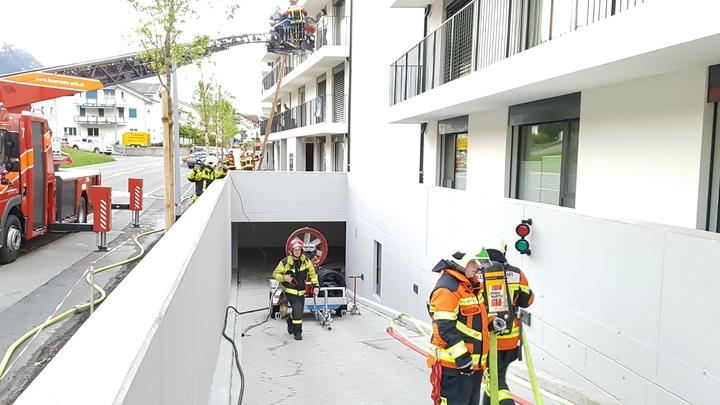 Einsatzübung Grosslüfter / Tiefgarage