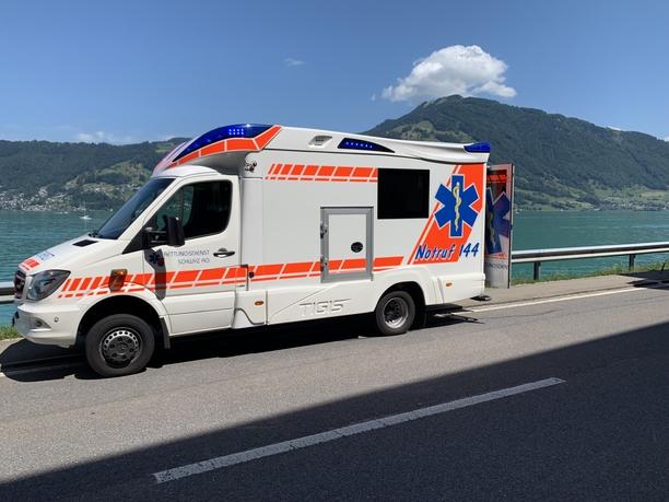 Rettungsdienst Fahrzeug