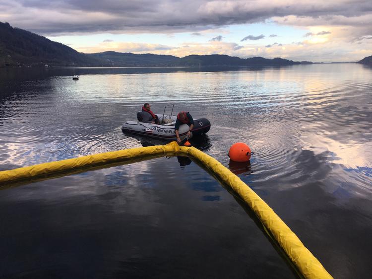 Einbau Seesperre