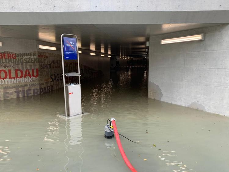 2020/31 Wasser Unterführung