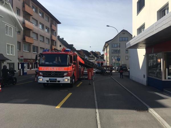 2021/6: Arth, Gotthardstrasse, Technische Hilfeleistung